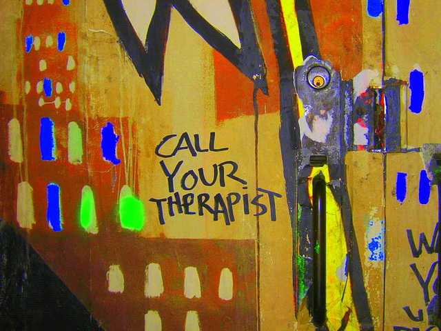 Call your therapist
